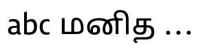 Lisboa Sans Tamil