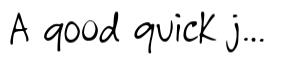GFY Handwriting Fontpak