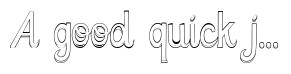 3D Cursive