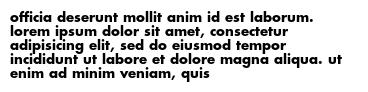officia deserunt mollit anim id est laborum. lorem ipsum dolor sit amet, consectetur adipisicing elit, sed do eiusmod tempor incididunt ut labore et dolore magna aliqua. ut enim ad minim veniam, quis