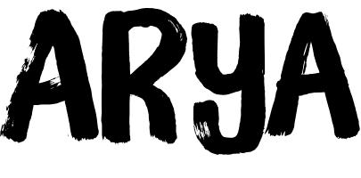Arya Name Wallpaper and Logo Whatsapp DP