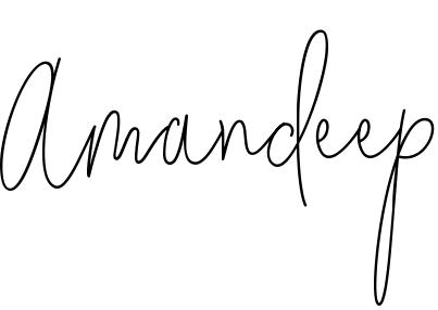 Amandeep Name Wallpaper and Logo Whatsapp DP