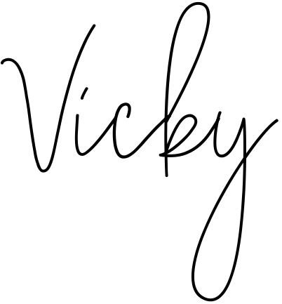 Vicky Name Wallpaper and Logo Whatsapp DP